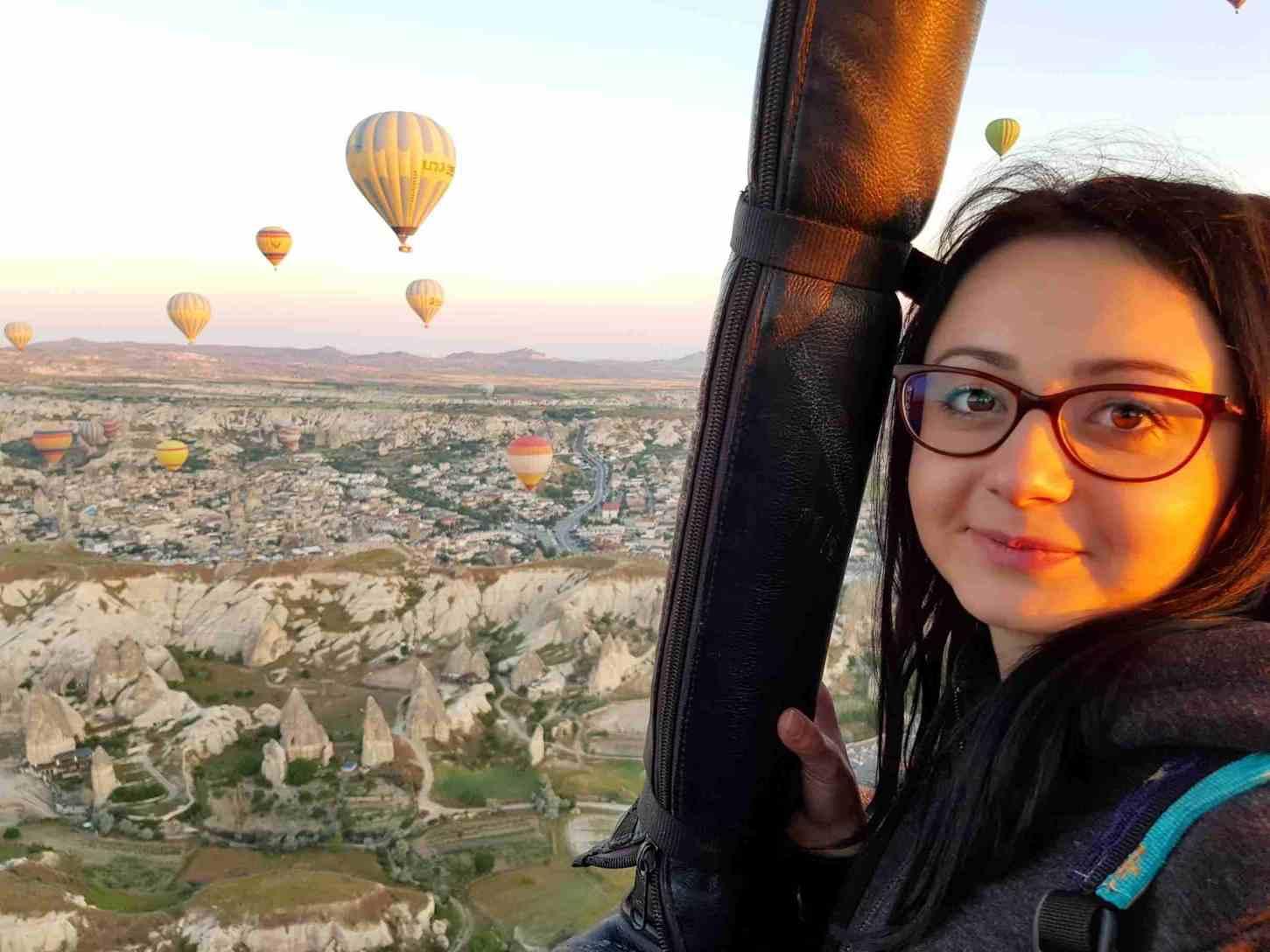 Zbor cu balonul cu aer cald in Cappadocia