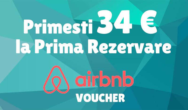 airbnb voucher calatoresti ieftin