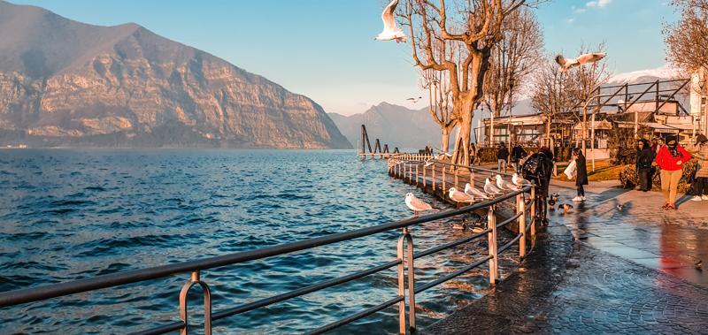 O zi la Lacul Iseo si Monte Isola in Italia